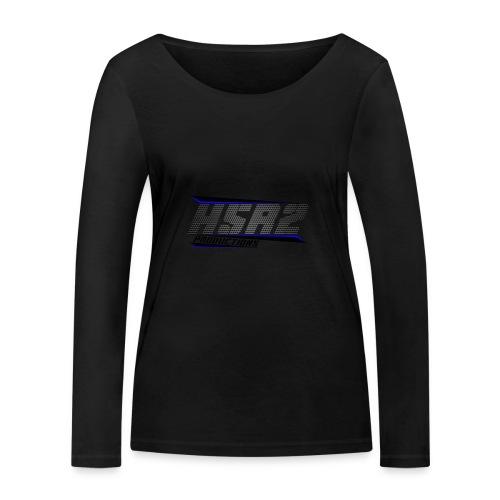 t-shirt zwart lange mouwen - Vrouwen bio shirt met lange mouwen van Stanley & Stella
