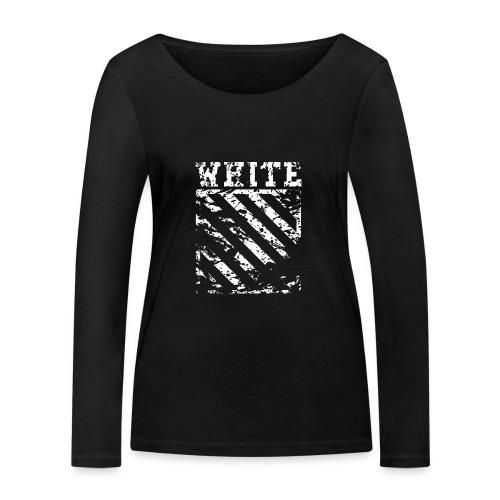 Off-White Streetwear - Økologisk Stanley & Stella langærmet T-shirt til damer