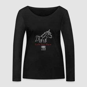 lurr unicorn - Women's Organic Longsleeve Shirt by Stanley & Stella