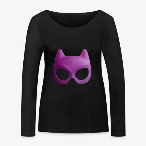 Bat Mask - Ekologiczna koszulka damska z długim rękawem Stanley & Stella