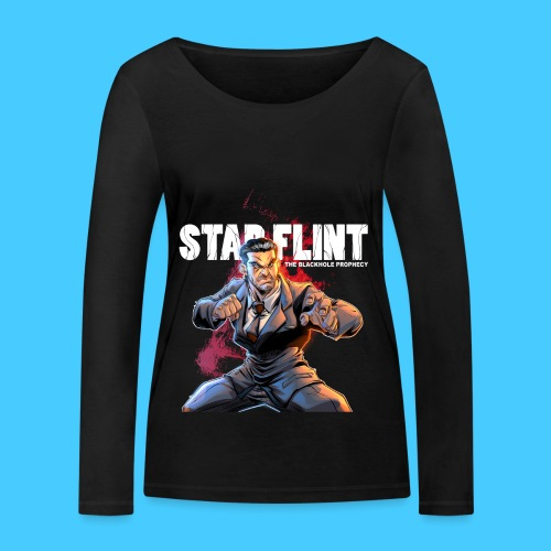 Draco Vargas 2 - T-shirt manches longues bio Stanley & Stella Femme