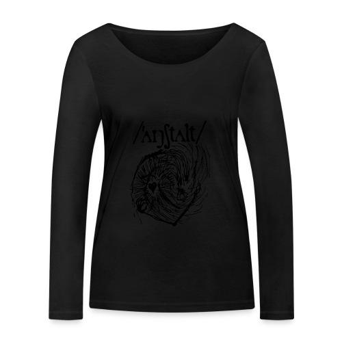 logo mit wesen (schwarz) - Frauen Bio-Langarmshirt von Stanley & Stella
