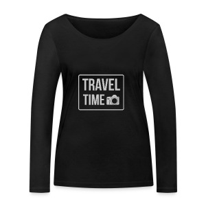 Travel time - Women's Organic Longsleeve Shirt by Stanley & Stella
