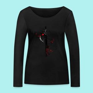 Papillonade - T-shirt manches longues bio Stanley & Stella Femme