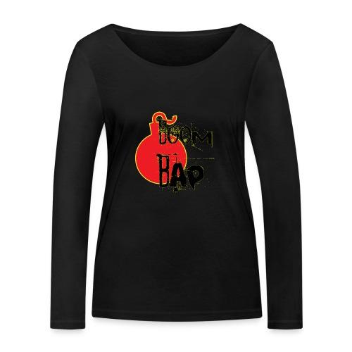 Boom Bap - Women's Organic Longsleeve Shirt by Stanley & Stella