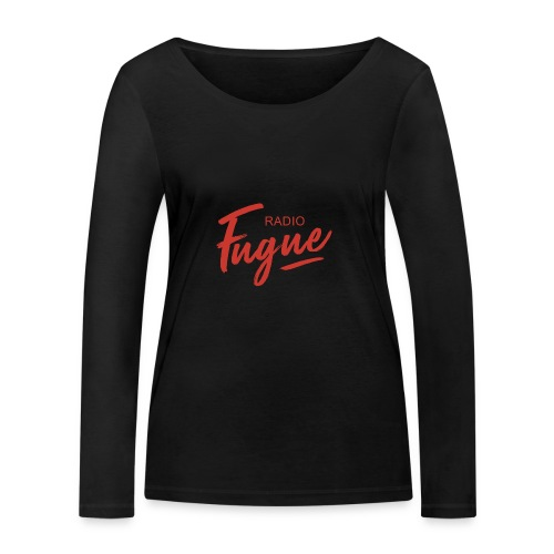 Radio Fugue Red - T-shirt manches longues bio Stanley & Stella Femme