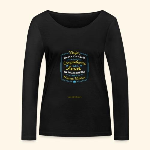 VIAJA - Camiseta de manga larga ecológica mujer de Stanley & Stella