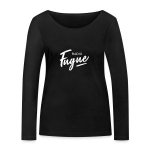 Radio Fugue Blanc - T-shirt manches longues bio Stanley & Stella Femme