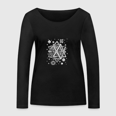 Stars - Women's Organic Longsleeve Shirt by Stanley & Stella