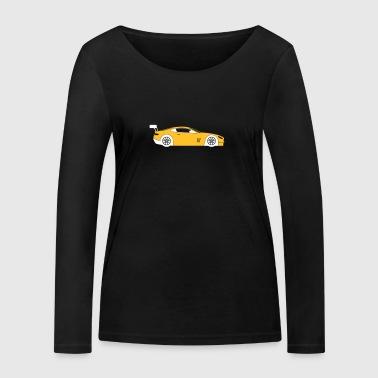 Samochód sportowy - Ekologiczna koszulka damska z długim rękawem Stanley & Stella