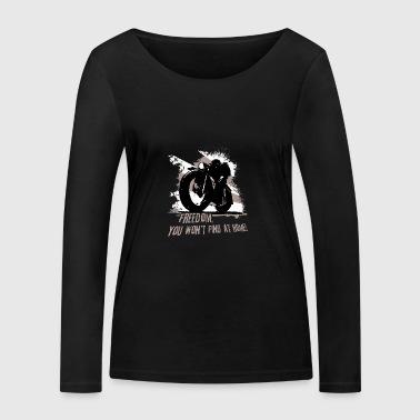 frihet - Ekologisk långärmad T-shirt dam från Stanley & Stella