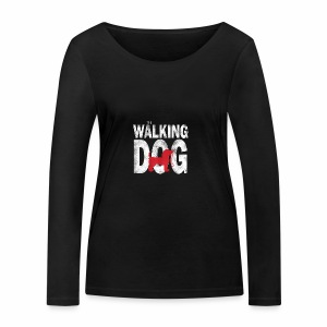 The Walking Dog - Frauen Bio-Langarmshirt von Stanley & Stella