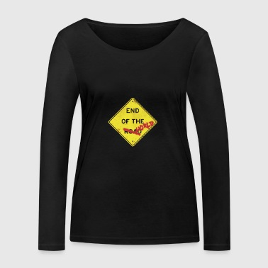 Koniec świata - Ekologiczna koszulka damska z długim rękawem Stanley & Stella