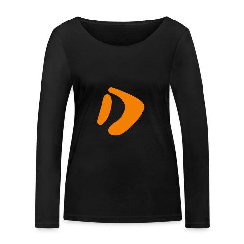 Logo D Orange DomesSport - Frauen Bio-Langarmshirt von Stanley & Stella