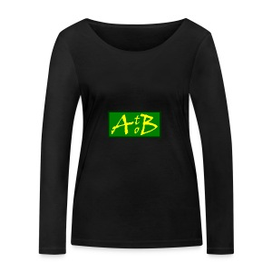 AtoB Logo green / yellow - Women's Organic Longsleeve Shirt by Stanley & Stella