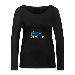 SPREADSHIRT_Logos_Paddle_Run_v3_-3- - T-shirt manches longues bio Stanley & Stella Femme