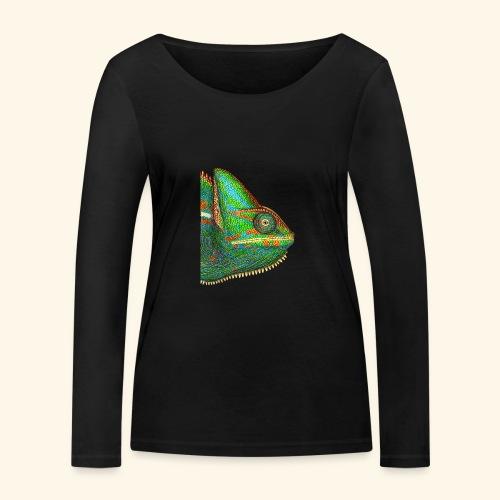 Chamäleon - Frauen Bio-Langarmshirt von Stanley & Stella