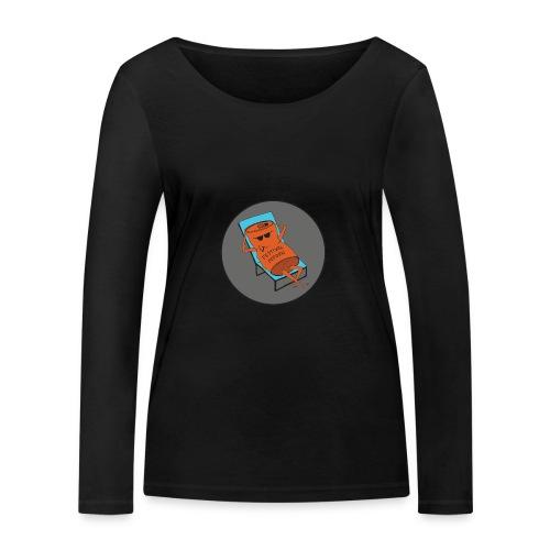 Festivalpodden - Loggan - Ekologisk långärmad T-shirt dam från Stanley & Stella
