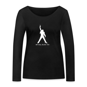 WE WILL GLOCK YOU - Frauen Bio-Langarmshirt von Stanley & Stella