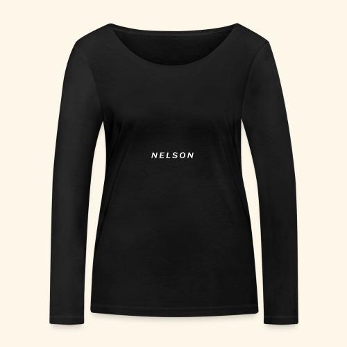 NELSON March Merch - Økologisk Stanley & Stella langærmet T-shirt til damer