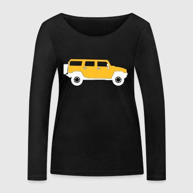 Pojazd użytkowy - Ekologiczna koszulka damska z długim rękawem Stanley & Stella