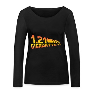 1.21 Gigawatts - Frauen Bio-Langarmshirt von Stanley & Stella