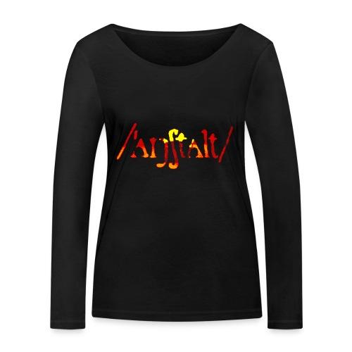 logo gerastert (flamme) - Frauen Bio-Langarmshirt von Stanley & Stella
