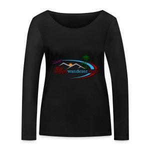 The Happy Wanderer Club - Women's Organic Longsleeve Shirt by Stanley & Stella