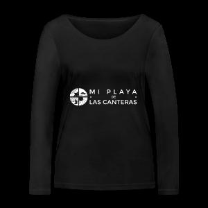 Mi playa de Las Canteras - Camiseta de manga larga ecológica mujer de Stanley & Stella