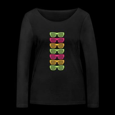 Okulary przeciwsłoneczne lato jasne światło dzienne bardzo fajne - Ekologiczna koszulka damska z długim rękawem Stanley & Stella
