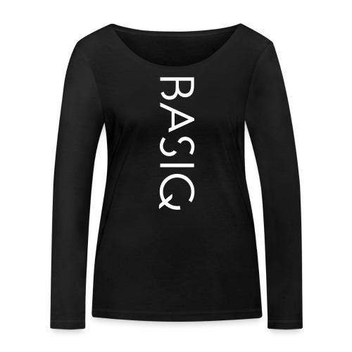 BASIQ white - Frauen Bio-Langarmshirt von Stanley & Stella