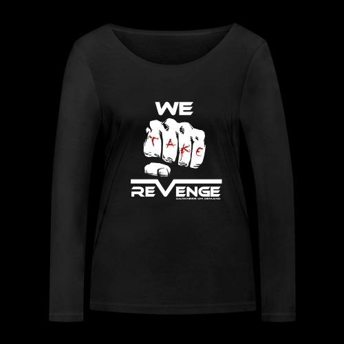 Darkness on Demand - We Take Revenge - Frauen Bio-Langarmshirt von Stanley & Stella