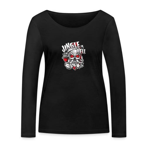 Anti-Weihnachten.png - Frauen Bio-Langarmshirt von Stanley & Stella
