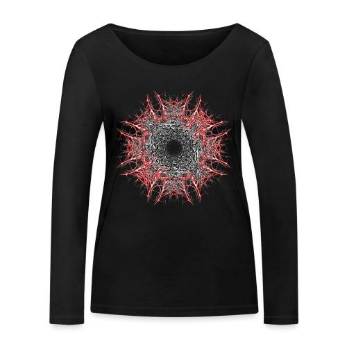roter stern - Frauen Bio-Langarmshirt von Stanley & Stella
