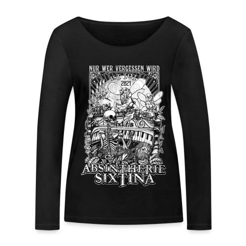 Absintherie Sixtina 2021 - Sixtina Support - Frauen Bio-Langarmshirt von Stanley & Stella