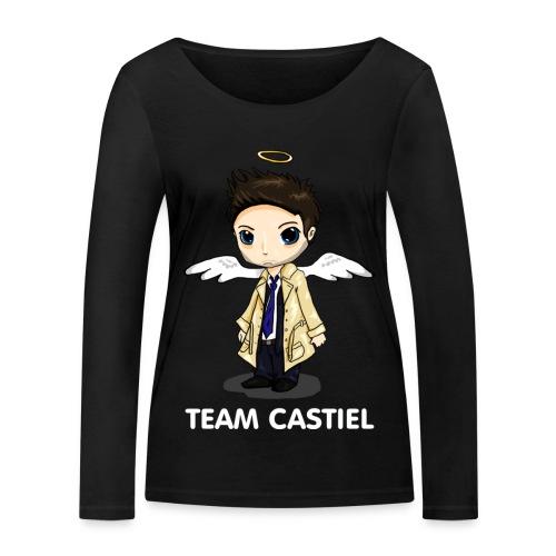 Team Castiel (dark) - Women's Organic Longsleeve Shirt by Stanley & Stella