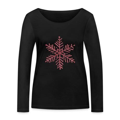 snowflake - T-shirt manches longues bio Stanley & Stella Femme