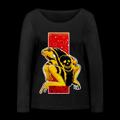 Death Frog - Ekologiczna koszulka damska z długim rękawem Stanley & Stella