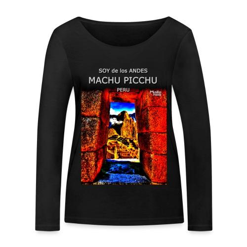 SOJA de los ANDES - Machu Picchu II - Camiseta de manga larga ecológica mujer de Stanley & Stella