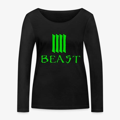 Beast Green - Women's Organic Longsleeve Shirt by Stanley & Stella