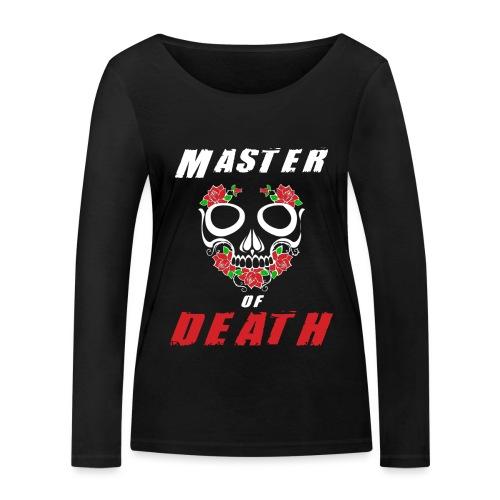 Master of death - white - Ekologiczna koszulka damska z długim rękawem Stanley & Stella