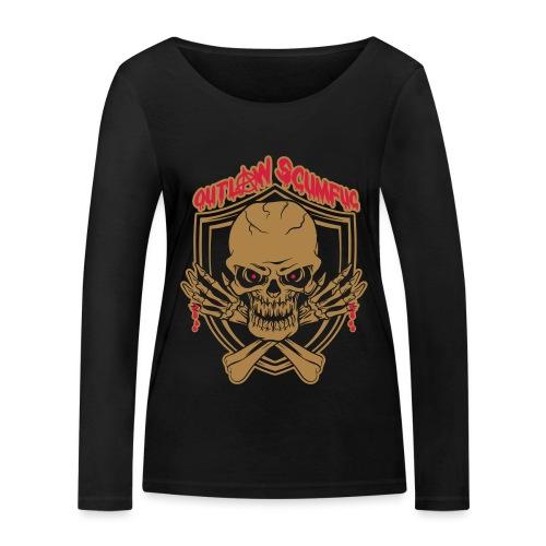 Outlaw Scumfuc - Frauen Bio-Langarmshirt von Stanley & Stella