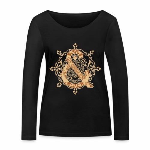 Escudo natural & ... - Camiseta de manga larga ecológica mujer de Stanley & Stella