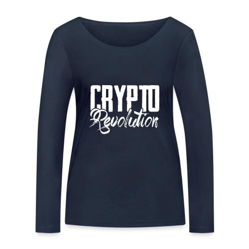 Crypto Revolution - Women's Organic Longsleeve Shirt by Stanley & Stella