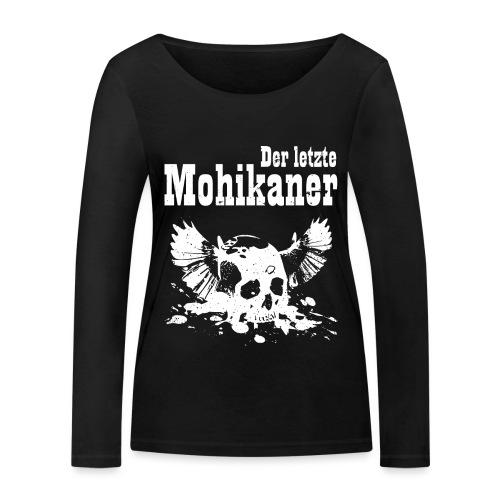Der letzte Mohikaner - Frauen Bio-Langarmshirt von Stanley & Stella