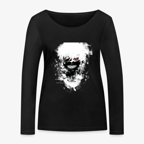 Kaneki Eye Patch - Women's Organic Longsleeve Shirt by Stanley & Stella