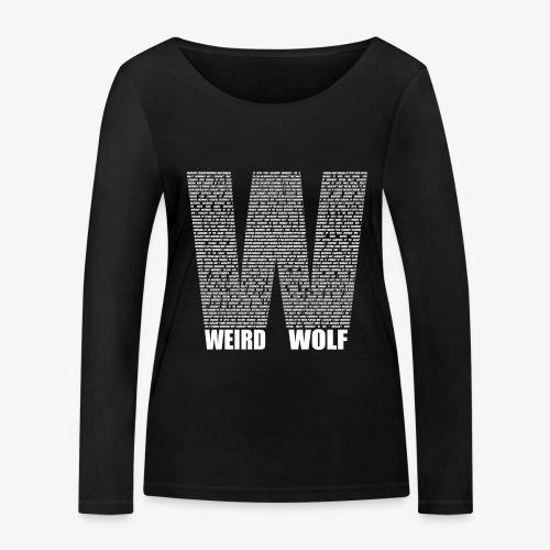 The Big W (White) - Women's Organic Longsleeve Shirt by Stanley & Stella