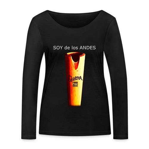 De los ANDES - Quena II - Women's Organic Longsleeve Shirt by Stanley & Stella