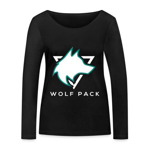 Wolf Pack Logo (NEW) - Women's Organic Longsleeve Shirt by Stanley & Stella