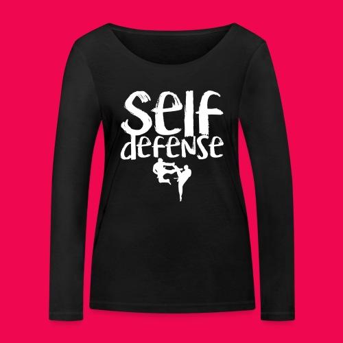 Self Defense 1.0 - Frauen Bio-Langarmshirt von Stanley & Stella